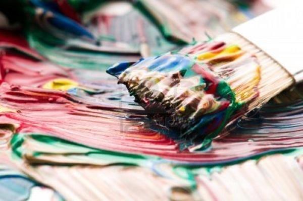 Quels sont les 7 arts point fort - Nettoyer les pinceaux de peinture ...